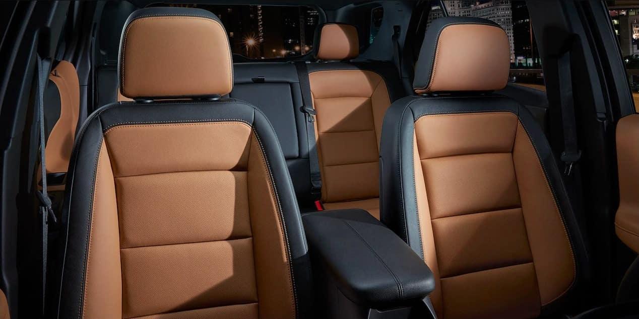 2018 Chevrolet Equinox seats