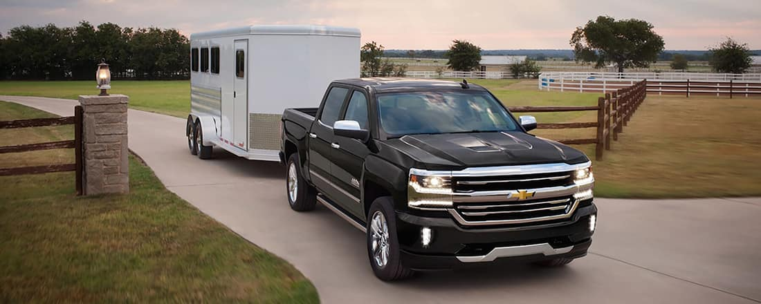 2018 Chevy Silverado 1500 Towing