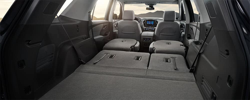 2019 Chevrolet Traverse Interior Space
