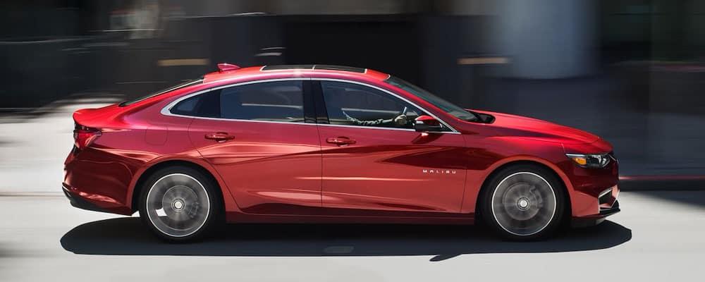 2018 Chevrolet Malibu Driving