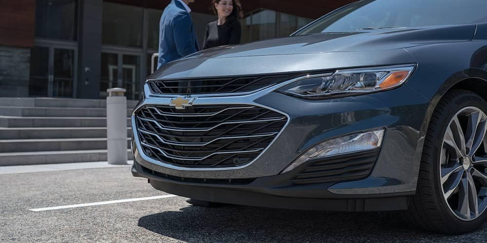 front end of 2019 Chevrolet Malibu