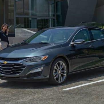 parked 2019 Chevrolet Malibu