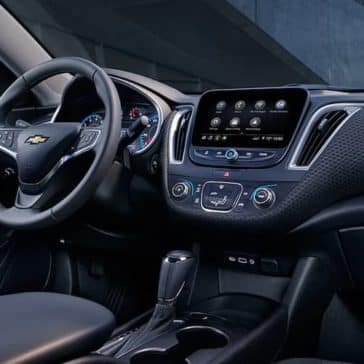 dashboard of 2019 Chevrolet Malibu