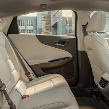 seating in 2019 Chevrolet Malibu