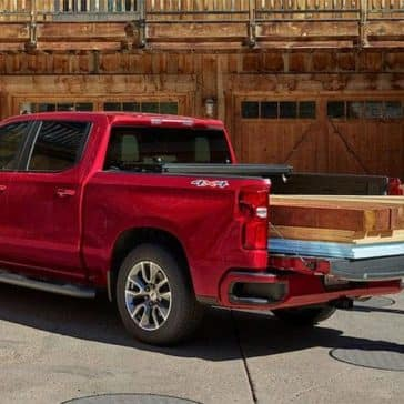 truck bed of 2019 Chevrolet Silverado