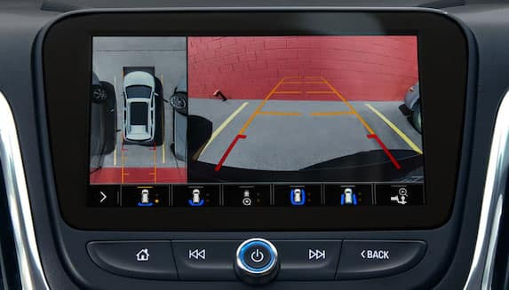 2019 Chevrolet Equinox Safety Camera on Screen