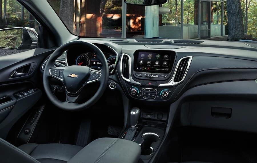 2019 Chevrolet Equinox Interior Features Dimensions