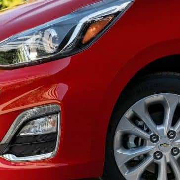 closeup of 2019 Chevrolet Spark