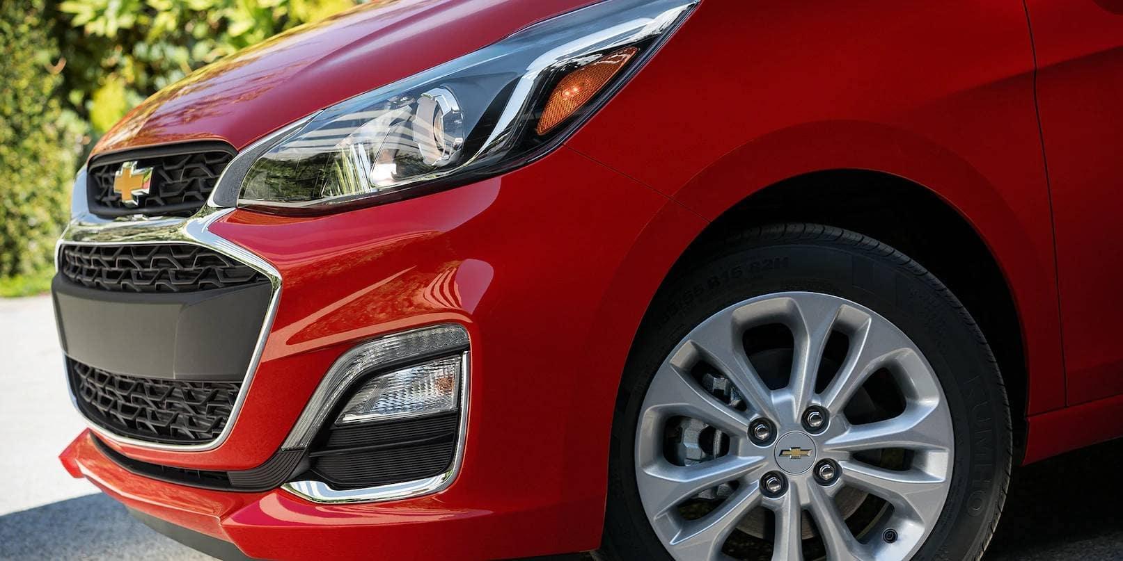 closeup of 2019 Chevrolet Spark