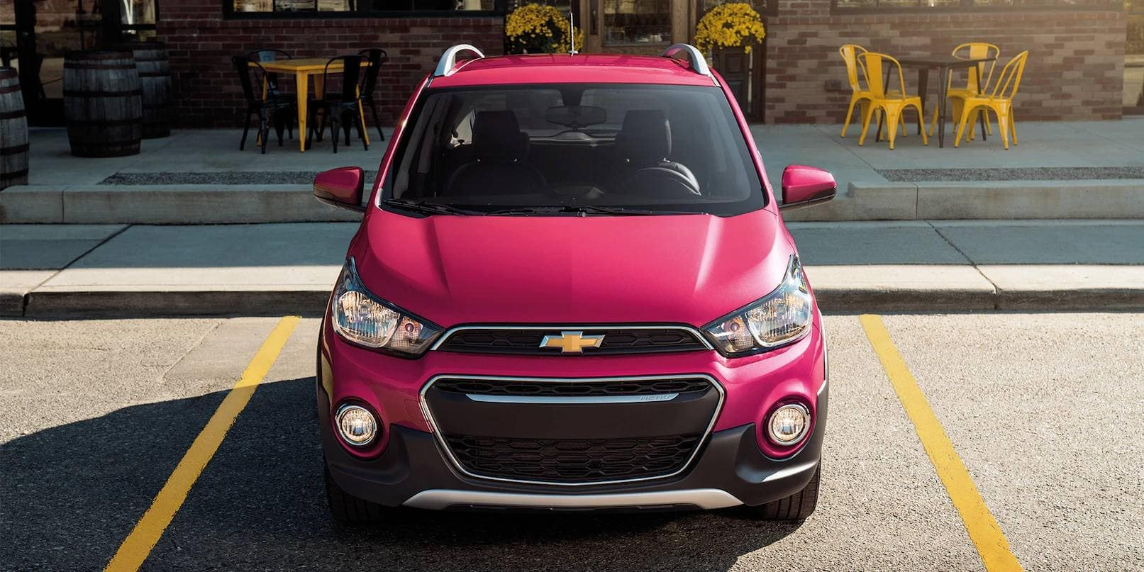 front end of 2019 Chevrolet Spark