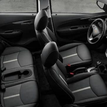 interior cabin of 2019 Chevrolet Spark