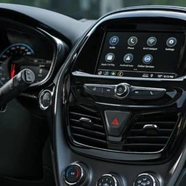 dashboard in 2019 Chevrolet Spark
