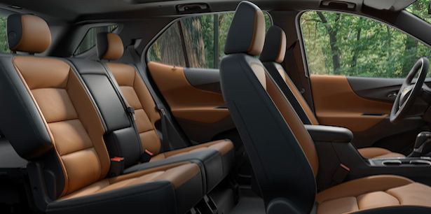 2019 Chevy Equinox Cargo Space