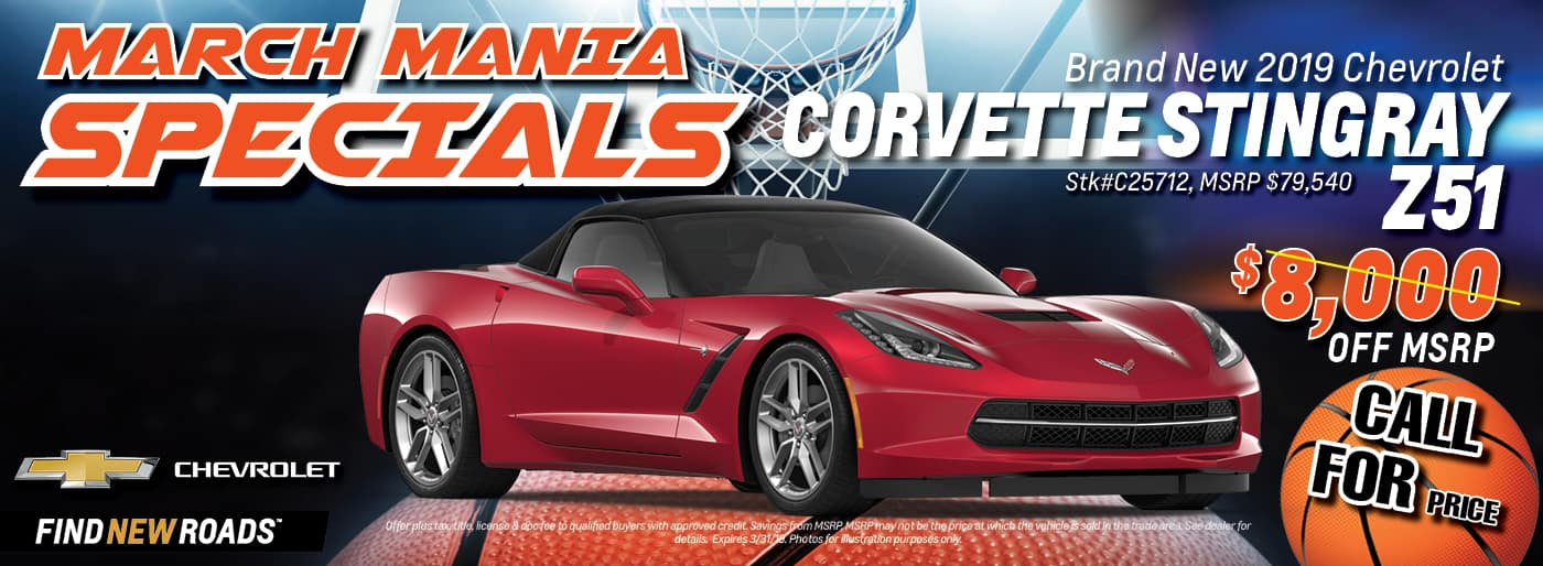 2019 Chevrolet Corvette Stringray Z51