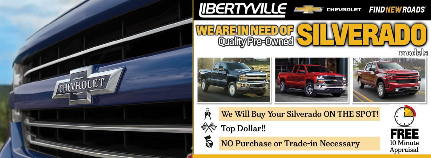 We Will Buy Your Silverado On The Spot!