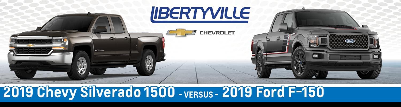 2019 Chevy Silverado 1500 vs. 2019 Ford F-150