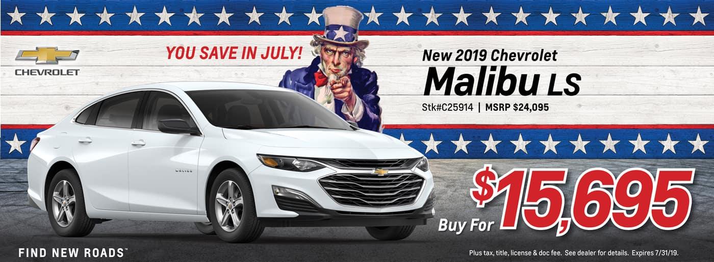 2019 Malibu