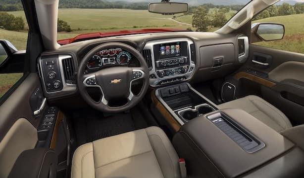 Chevy Silverado Dashboard Interior