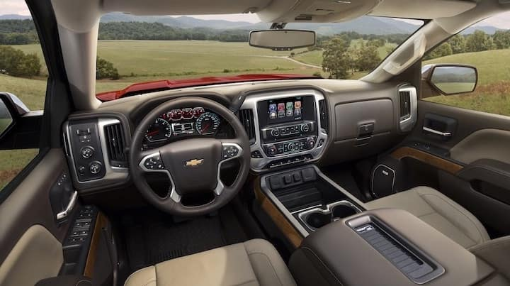 Chevy Silverado 1500 Interior Dashboard