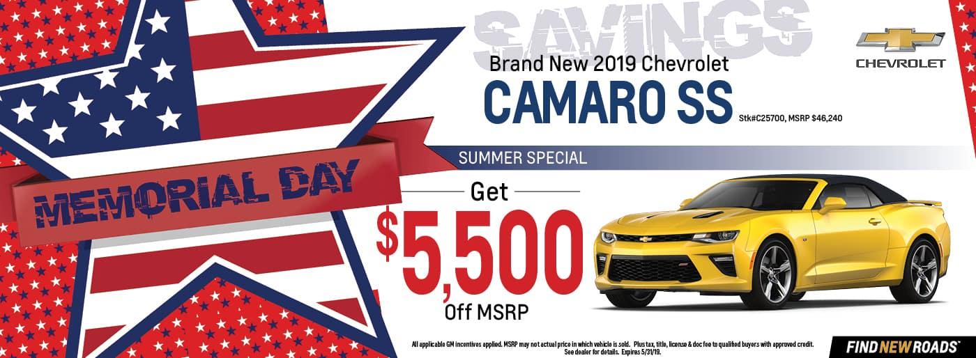 2019 Chevy Camaro SS