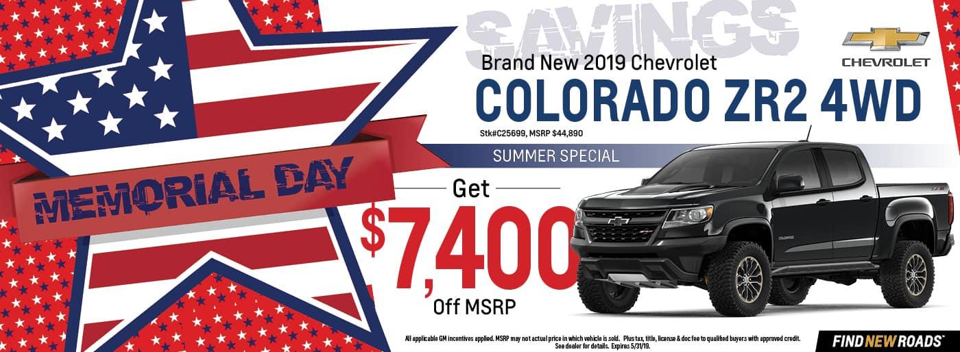 2019 Chevy Colorado ZR2