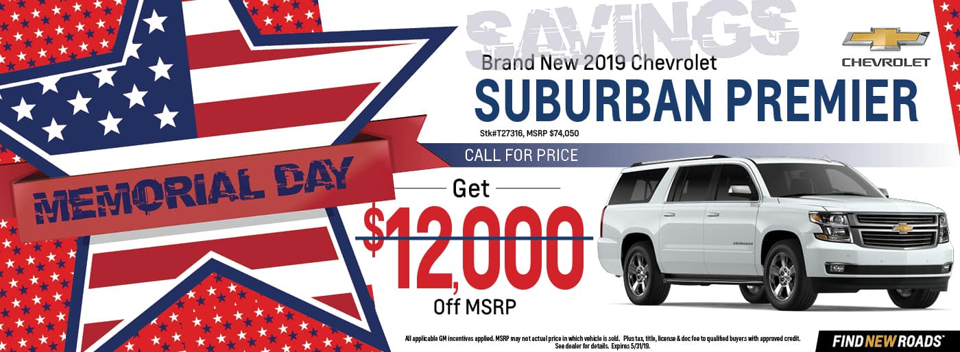 2019 Chevy Suburban Premier