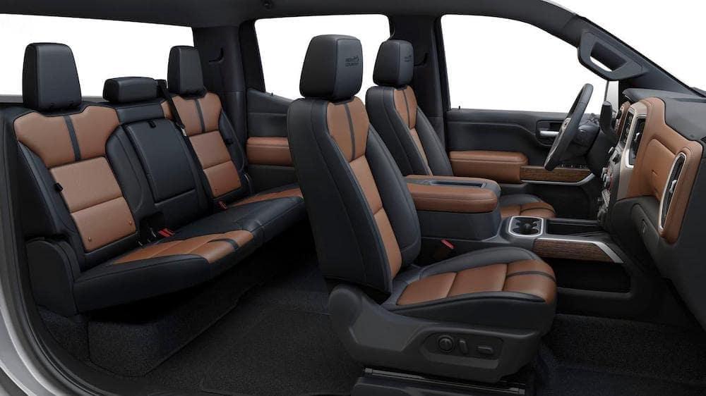 Chevy Silverado 1500 Black Interior