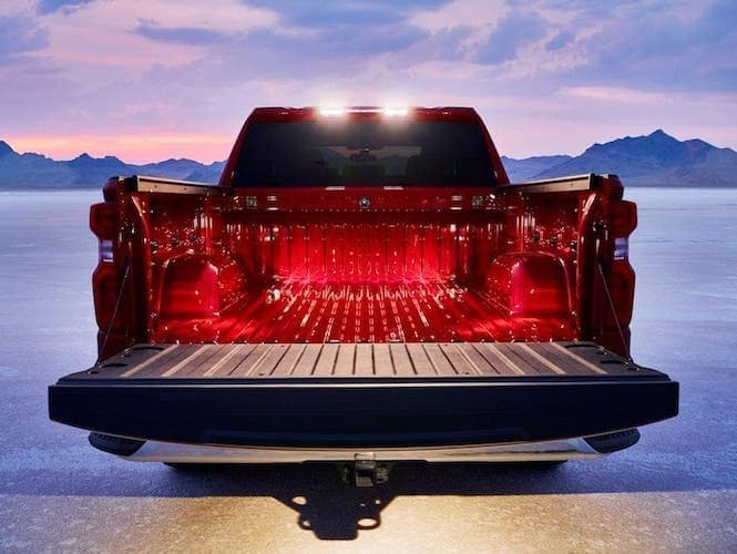 Chevy Silverado 1500 Lit Up Truck Bed