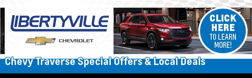 Chevy Traverse Special Offers