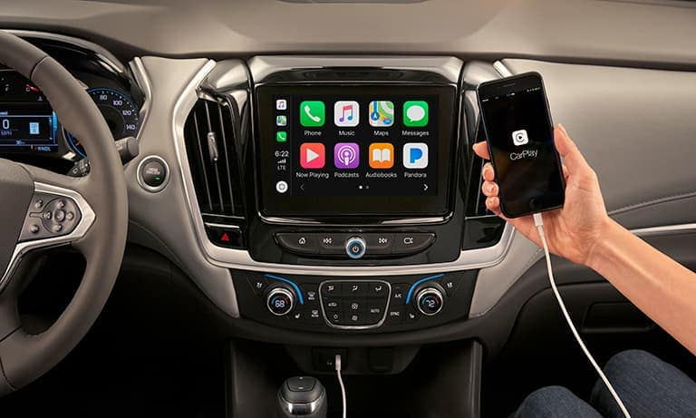 2019 Chevy Traverse Music Apple Car Play