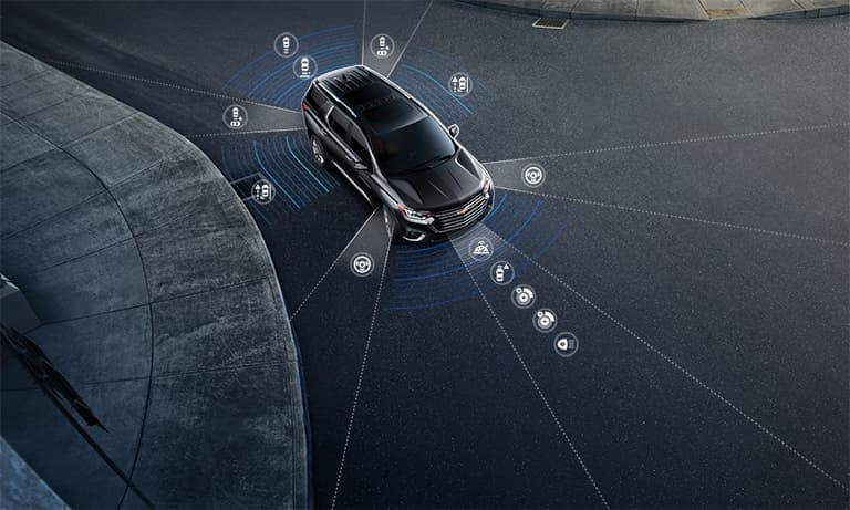 2019 Chevy Traverse Surround Vision Safety Features