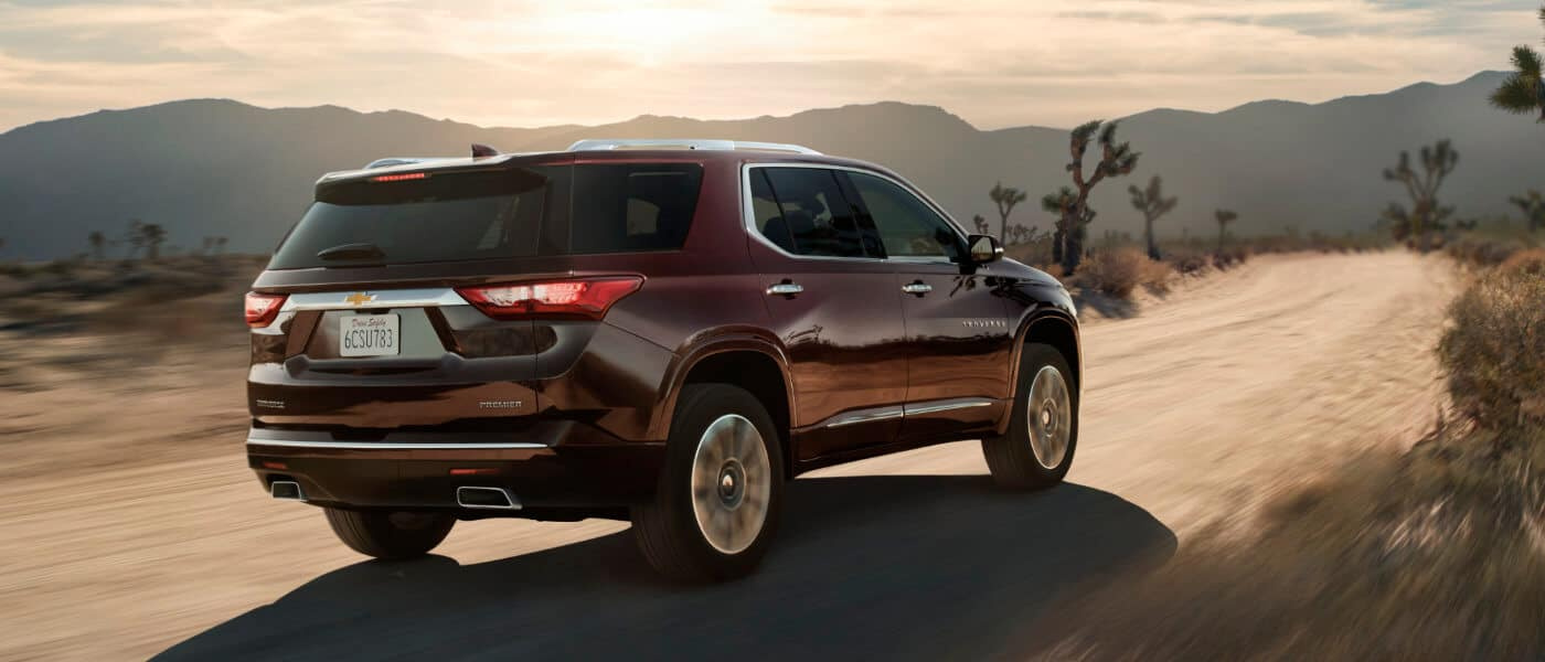 2019 Chevy Traverse Driving in The Desert