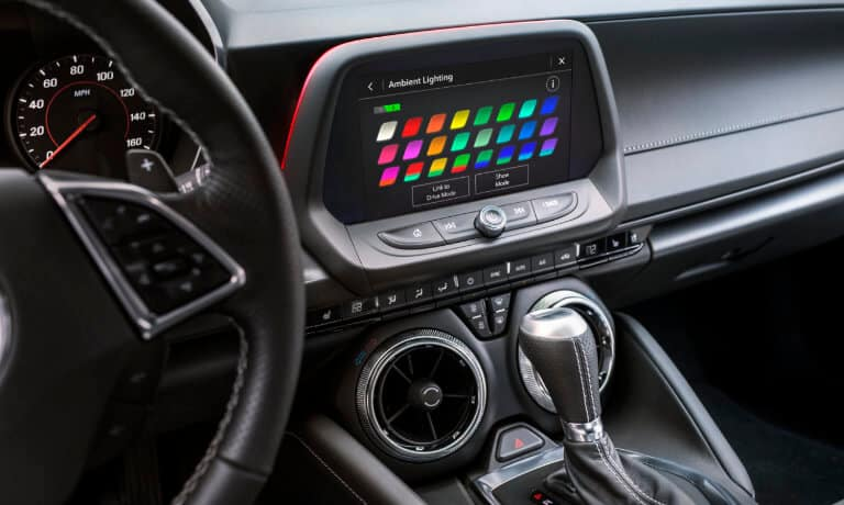 2019 Chevrolet Camaro infortainment