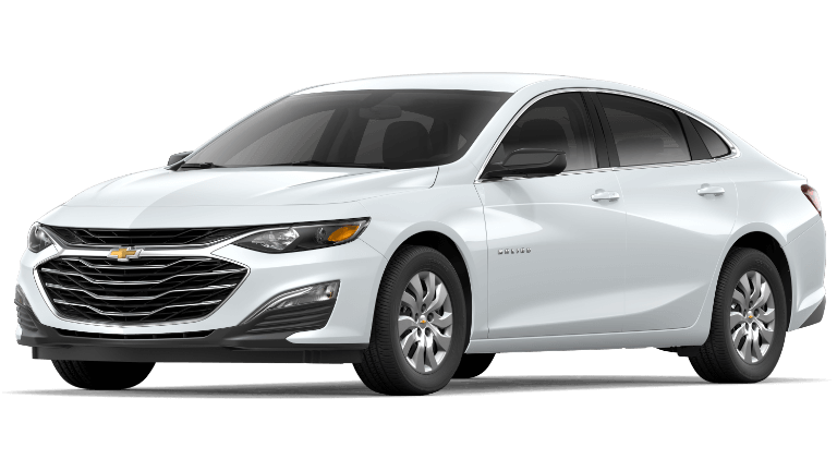2019 Chevy Malibu L - Summit White