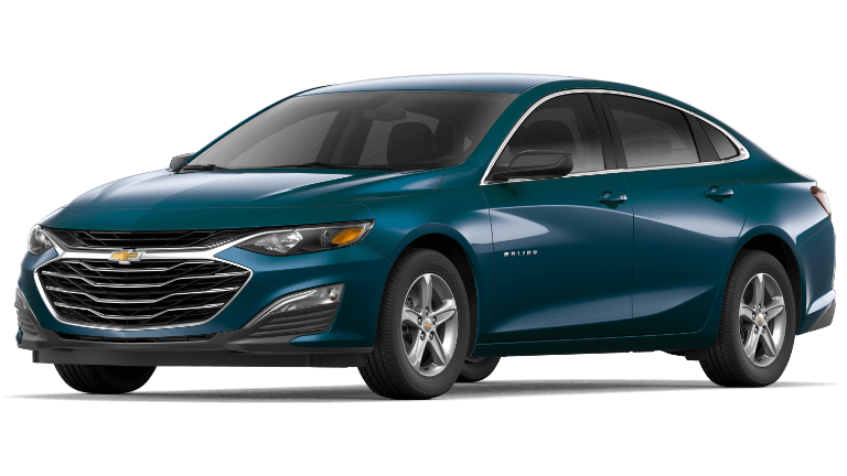 2019 Chevy Malibu LS - Pacific Blue
