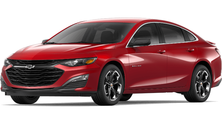 2019 Chevy Malibu RS - Cajun Red