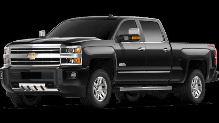 2019 black Chevrolet Silverado 3500 HD High Country
