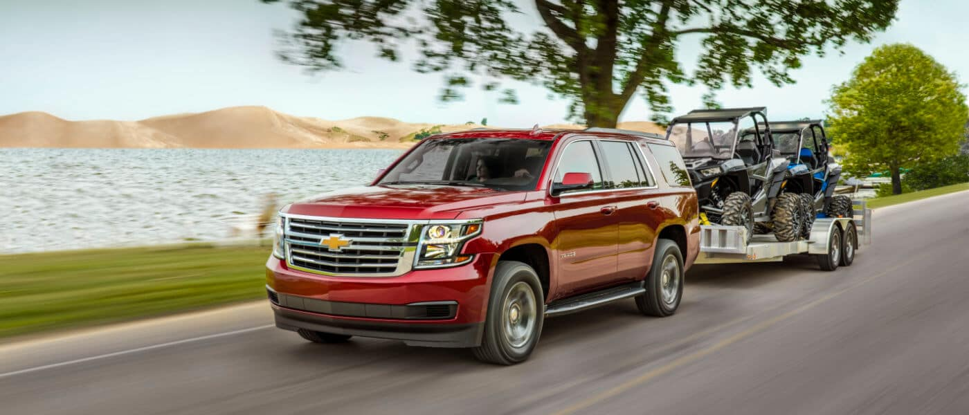 2019 Chevy Tahoe towing