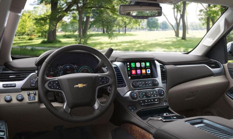 2019 Chevrolet Tahoe interior dashboard