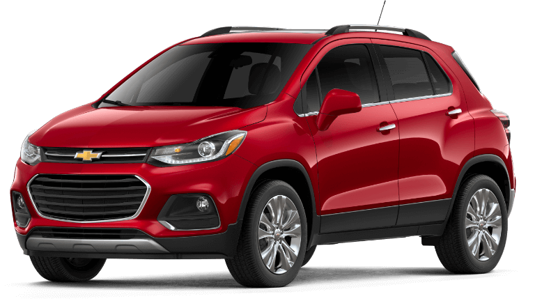 2019 Chevy Trax Premier - Cajun Red