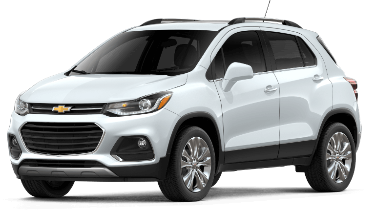 2019 Chevy Trax Premier - summit white