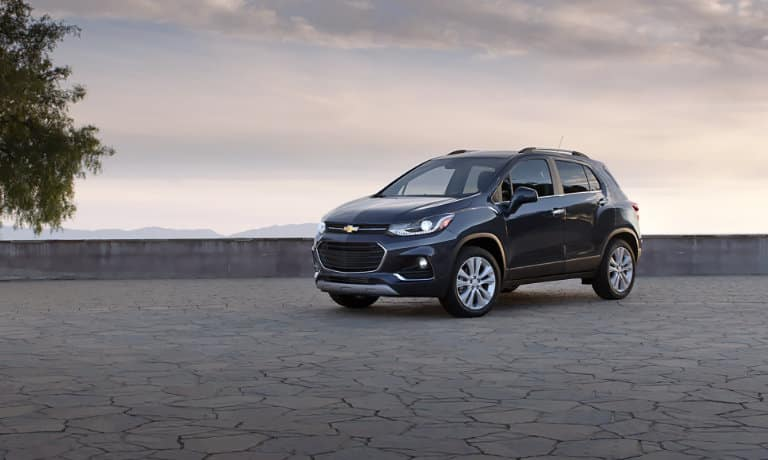 2019 Chevy Trax exterior parked