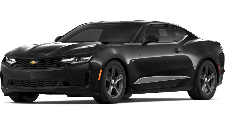 2019 black Chevrolet Camaro 1LT