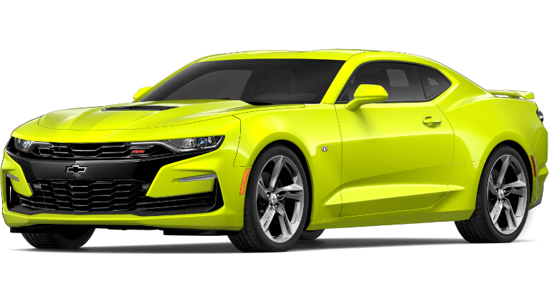 2019 lime green Chevrolet Camaro 1SS