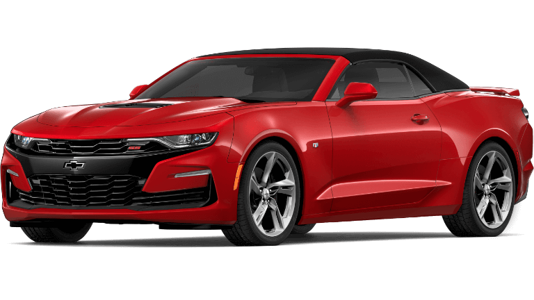 2019 red Chevrolet Camaro 2SS convertible