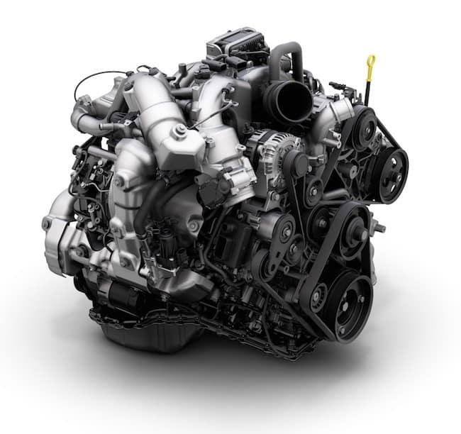 Silverado Duramax® engine