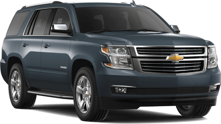 2019 blue Chevrolet Tahoe Premier