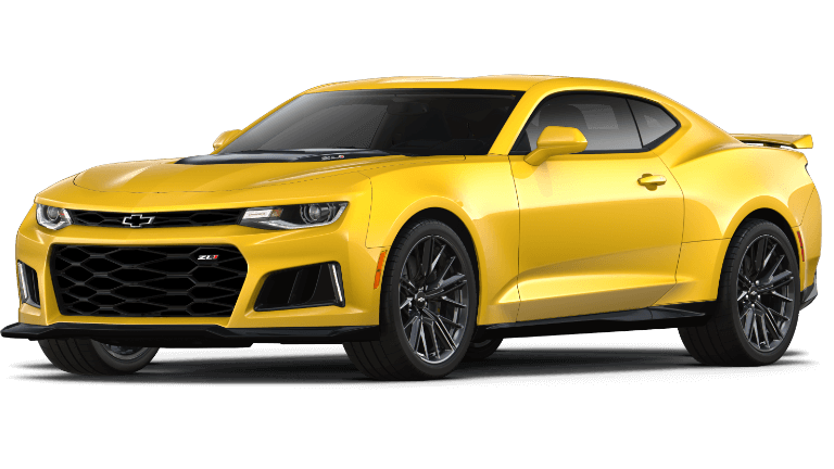 2019 yellow Chevrolet Camaro ZL1