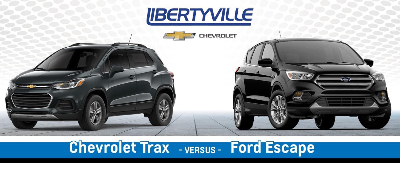 2020 Chevrolet Trax vs. 2020 Ford Escape
