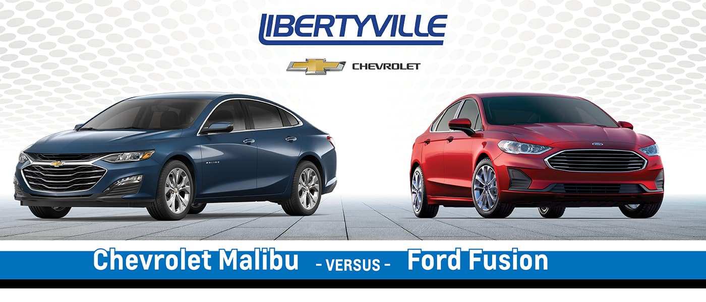 2020 Chevy Malibu vs. 2020 Ford Fusion